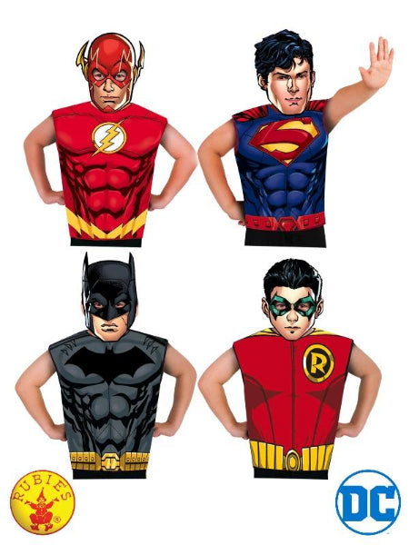 DC COMICS BOYS PARTYTIME ASST 32 PACK, CHILD - LICENSED COSTUME - ToyRoo
