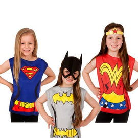 DC COMICS GIRLS PARTYTIME ASST 32 PACK, CHILD-LICENSED COSTUME - ToyRoo