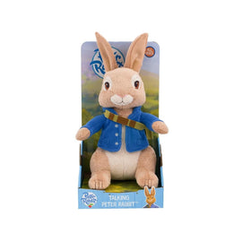 Peter Rabbit Talking Plush Toy - 25cm