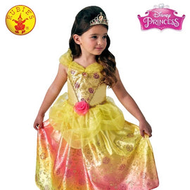 BELLE RAINBOW DELUXE COSTUME, CHILD - LICENSED COSTUMES - ToyRoo