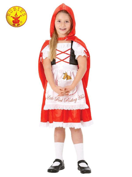LITTLE RED RIDING HOOD COSTUME, CHILD - SIZE - ToyRoo