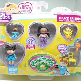 Cabbage Patch Kids Little Sprouts Friends Set (8 Pack) - ToyRoo