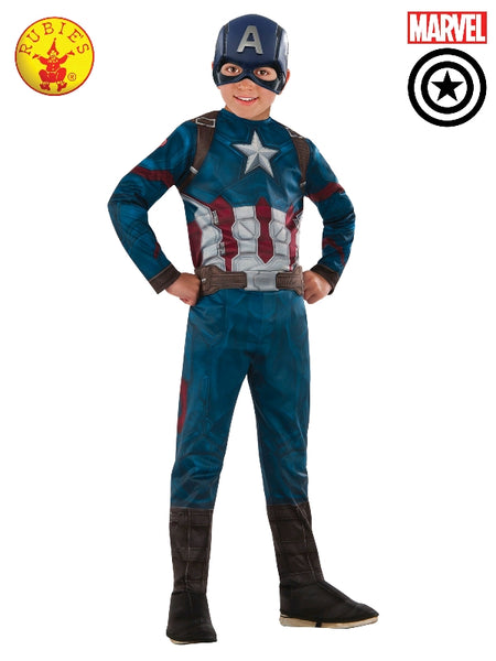 CAPTAIN AMERICA CLASSIC INFINITY WAR COSTUME, CHILD - ToyRoo