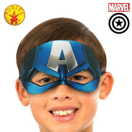 CAPTAIN AMERICA PLUSH EYEMASK, CHILD - LICENSED COSTUME - ToyRoo