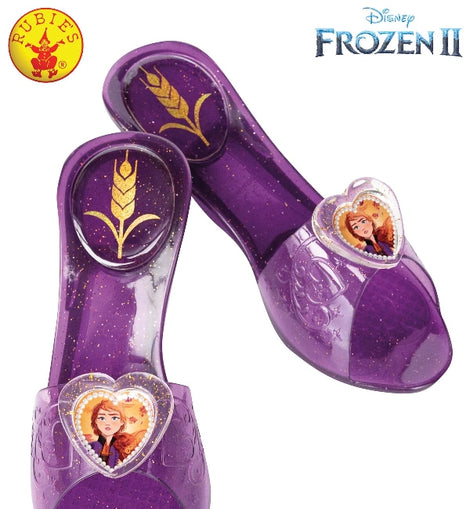 ANNA FROZEN 2 JELLY SHOES, CHILD