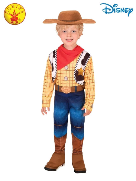 WOODY DELUXE TOY STORY 4 COSTUME, CHILD -LICENSED COSTUME