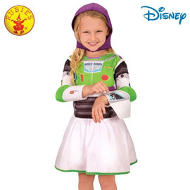 BUZZ GIRL TOY STORY 4 CLASSIC COSTUME, CHILD - LICENSED COSTUME - ToyRoo