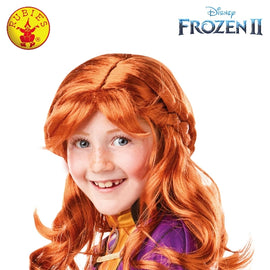 ANNA FROZEN 2 WIG, CHILD