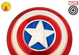 CAPTAIN AMERICA ELECTROPLATED METALLIC SHIELD -12