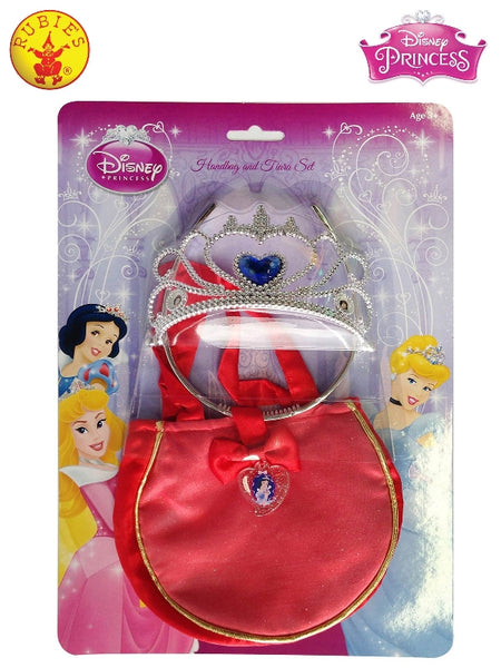 SNOW WHITE HANDBAG & TIARA - CHILD