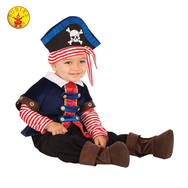 PIRATE BOY COSTUME, (SIZE - TODDLER)