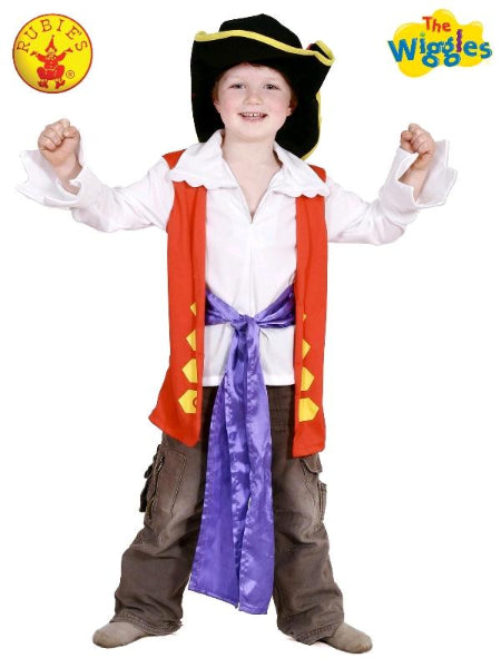 CAPTAIN FEATHERSWORD DRESS UP SET, CHILD - LICENSED COSTUME - ToyRoo