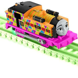 Thomas & Friends Fisher-Price Trackmaster, Motorized Hyper Glow Nia