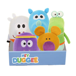 HEY DUGGEE TALKING SQUIRREL SOFT TOYS  20cm