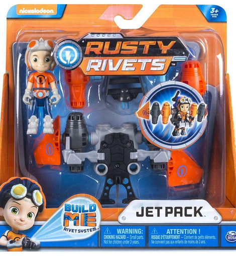 Rusty Rivets Rusty Build Pack Jet Pack - ToyRoo