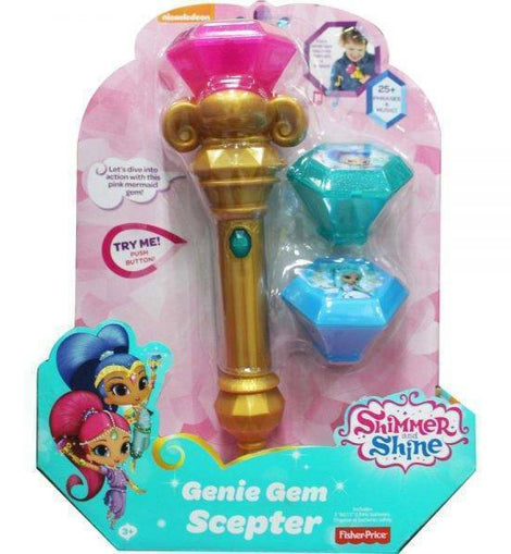 Fisher-Price Shimmer and Shine Genie Gem Scepter - ToyRoo