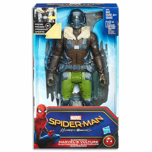 "Spider-Man Marvel 12"" Vulture Action Figure Electronic with Sound Homecoming"
