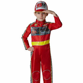LIGHTNING McQUEEN DELUXE SIZE 4-6 Years LICENSED COSTUME - ToyRoo
