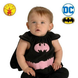 BATGIRL BABY COSTUME, BABY (0-6 months) -LICENSED COSTUME