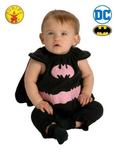 BATGIRL BABY COSTUME, BABY (0-6 months) -LICENSED COSTUME - ToyRoo
