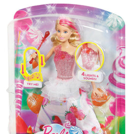 Barbie DREAMTOPIA - Sweetville Princess - 4 Lights and Magical Sounds!