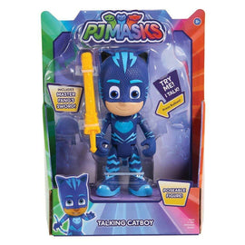PJ MASKS Deluxe Talking-Cat Boy Figure Toy, Blue