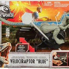"Jurassic World Rip-Run Dinos Velociraptor ""Blue"" - ToyRoo"