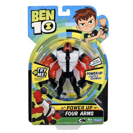 Ben 10 Arms Basic Action Figure Power up Deluxe Figure Four Arms - ToyRoo