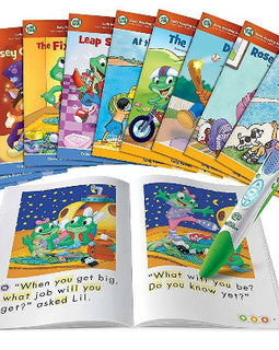 LeapFrog LeapReader System Learn to Read 10 Book Bundle Mega Pack - Ages 4-8 yrs