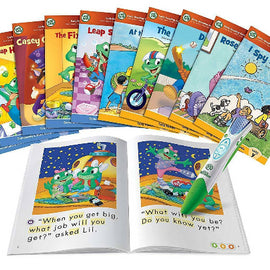 LeapFrog LeapReader System Learn to Read 10 Book Bundle Mega Pack - Ages 4-8 yrs - ToyRoo