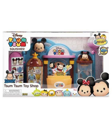 Disney Tsum Tsum Squishy Toy Shop Playset - ToyRoo