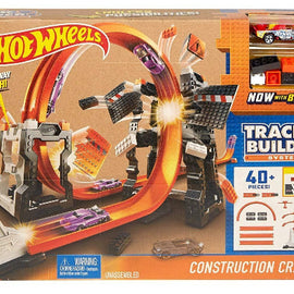 Hot Wheels Track Builder Construction Crash Kit - ToyRoo