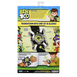 BEN 10 Deluxe Omnitrix - 100+ Alien Phrases & Motion Activated - Play Watch - ToyRoo
