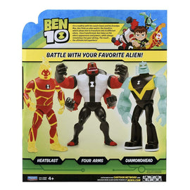 "Ben 10 Arms Basic Action Figure 10"" Giant Figure Four Arms"