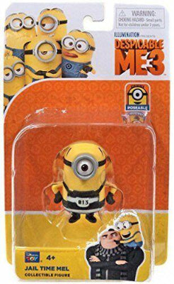 Despicable Me 3 - Jail Time Mel - Collectible Figure - ToyRoo