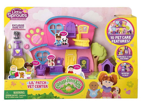 Cabbage Patch Kids Little Sprouts Lil' Vet Center Play Set - ToyRoo