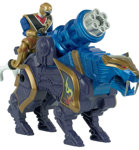 Power Rangers Action Figure, Sabretooth Tigercannon Zord - ToyRoo