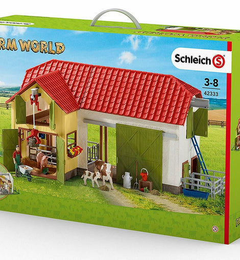 Schleich SC42333 Large Farm with Accessories Playset