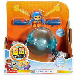 Go Jetters Geo Action Figure Kyan & GO Roll