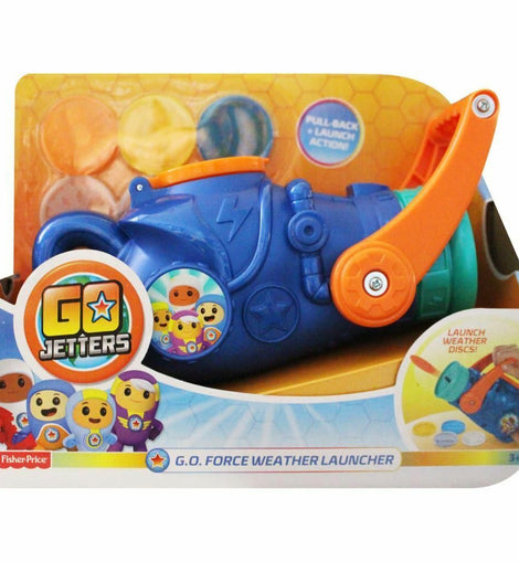 Fisher Price Go Jetters G.O. Force Weather Launcher Toy - ToyRoo