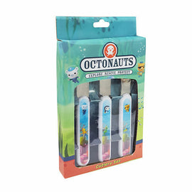 Octonauts 3pc Cutlery Set Fork Knife Spoon Mealtimes Kids - ToyRoo