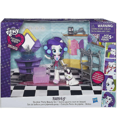 MY LITTLE PONY EQUESTRIA GIRLS RARITY SLUMBER PARTY BEAUTY SET - ToyRoo