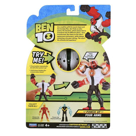 Ben 10 Arms Basic Action Figure Power up Deluxe Figure Four Arms