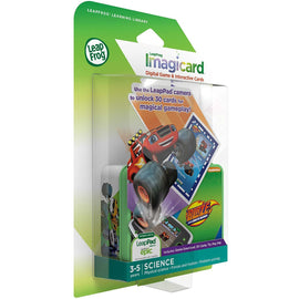 LeapFrog Blaze &The Monster Machines Imagicard Learning Game for LeapFrog Tablet - ToyRoo
