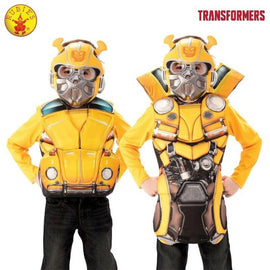 BUMBLEBEE FLIP N REVEAL DELUXE COSTUME TOP, SIZE S - LICENSED COSTUME - ToyRoo