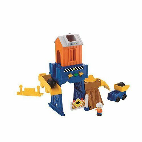 FISHER PRICE LITTLE PEOPLE LOAD & GO CONSTRUCTION SITE