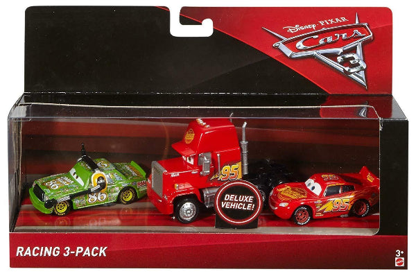 Disney Pixar Cars 3 Racing 3-Pack Die-Cast Vehicles - ToyRoo