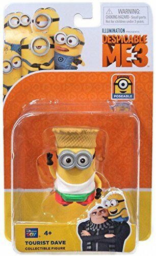 Despicable Me 3 - Tourist Dave - Collectible Figure - ToyRoo