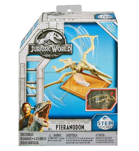 Jurassic World Stem Fossil Strikers Pteranodon Figure ( S.T.E.M ) - ToyRoo