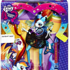 My Little Pony Equestria Girls Rainbow Rocks Rainbow Dash Doll [Rockin' Hairstyl - ToyRoo